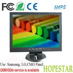 Industrielle de 10 pouces haute luminosité du moniteur LCD TV AV HDMI VGA