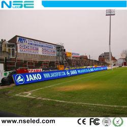 LEIDENE van de Perimeter van sporten het OpenluchtP10 Comité van de Vertoning voor het LEIDENE van het Spel van de Voetbal Teken van het Stadion