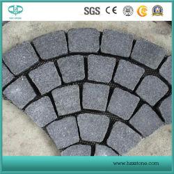 G684/Chine en granit noir/basalte noir/granit Paving Stone/Pierres naturelles/granit Cobble/finisseur