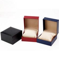 Lichee Pattern case Flip Watch, regarder la boîte d'emballage, de la colle Case, regarder la boîte en plastique