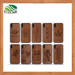 El caso del teléfono móvil de madera de bambú