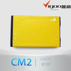 Venda quente C-M2 para bateria de telefone celular BB 8100