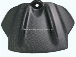 Voordeksel van de Carbon Fiber-motortank voor Aprilia RSV4 2009