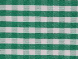 Verde/Branco Sarjado Verificações de fios tecidos tingidos Shirting CVC