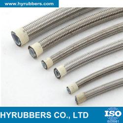Résistant aux hautes températures tressé en acier inoxydable R14