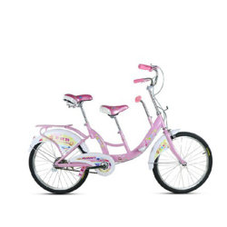 سباق رخيص ثنائي المقاعد قابل للطي ثنائي المقاعد مع الدراجات الرباعية لشخصين دراجة سيري