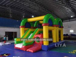 2015 aufblasbares Toy Playground Bouncer House mit Slide
