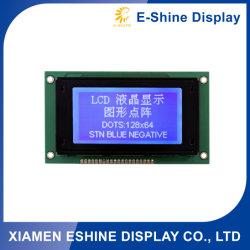 Stn 128X64 LCD Bildschirmanzeige kundenspezifischer elektronischer LCD für elektronische Bauelemente