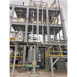 La refinería de crudo de glicerol glicerol crudo de la planta de purificación B100 Aceite de cocina usado para la producción de biodiesel