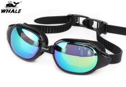 Le design de mode Miroir personnalisé enduit coloré des lunettes de Natation Natation de gros des lunettes de protection pour les compétitions professionnelles Factory Direct des lunettes de natation