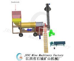 Trommel complète de l'or Machine à laver usine de concentration d'or pour la vente
