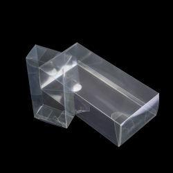 Caixa de embalagem interior barato pequenas claro de transporte de plástico PET caixa de embalagem de dobragem