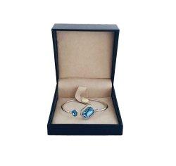 虚栄心のハイエンド習慣PUの革宝石類の包装