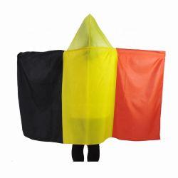 Los fanáticos del fútbol de impresión personalizada bandera nacional la bandera del cuerpo