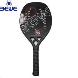 El logotipo del fabricante de carbono de impresión personalizadas con raquetas de playa