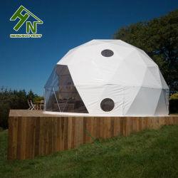 Prefab Dome grande tenda Piscina Camping para venda