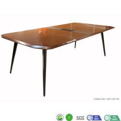 Tabela de Ponta Cônica Vener moderna estrutura de metal mesa de treinamento de suporte