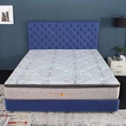 Materasso di molla domestico imballato a vuoto della casella della mobilia con la parte superiore del cuscino