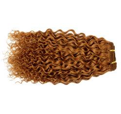 Vendiendo el producto caliente Kinky el cabello rizado cabello tejido de trama