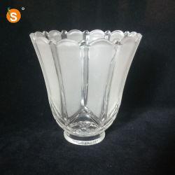 Il paralume di vetro del Sandblast per i lampadari a bracci progetta disponibile per il cliente