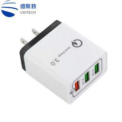3 port USB UE/US/UK/UA/Kor Socket 2.1AMP chargeur mural standard