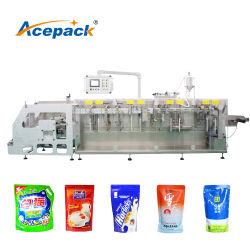 Doypack Horizontal Bolsa máquina de embalagem para Tempero em Pó, produtos à base de plantas, produtos farmacêuticos Ziplock Bag máquina de embalagem