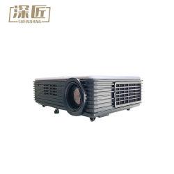 LCD LEDプロジェクター5500内腔の組み込みのアンドロイド6.0のWiFi Bt完全なHDプロジェクター