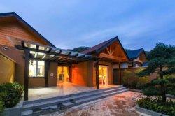 Maison en bois pour le projet d'Attraction touristique