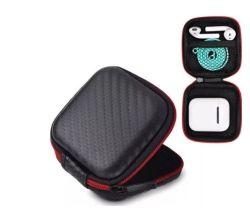 Kleine quadratische bewegliche bunte Arbeitsweg-Kopfhörer und Kopfhörer EVA-Speicher-Fall mit Reißverschluss-Schliessen