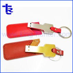 Mini Clé USB Stick avec étui cuir