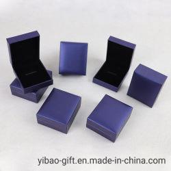 Hersteller-kundenspezifische Medaillen-Medaillon-Münzen-Großhandelsbildschirmanzeige-verpackengeschenk-Kasten-Schmucksache-Samt-Kasten für Förderung-Geschenk (YB-B-03)