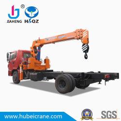 Bestes Verkaufs-HBQZ 10 Tonnen hydraulische anhebende LKW-Eingehangene Kran-mit teleskopischer 4 Hochkonjunktur für Verkauf