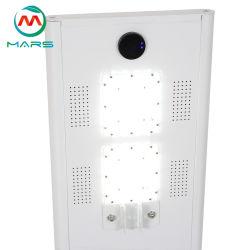 화성 태양 태양 전지판 30W 힘 Bridgelux 먼 지능적인 태양 Dimmable LED 가로등 IP68 LED 가로등