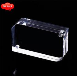 إطار صور أكريليك، إطارات صور مغنطيسية، شفاف، سمك 10 + 10 مم، مكتب/طاولة