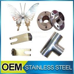 非標準CNCの機械化の手仕事のステンレス鋼304の202の製品