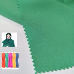 2019 Novo tecido Koshibo 100% poliéster vestido de tecido Hijab Islâmica