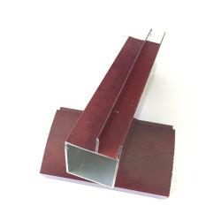 Portello di alluminio della mobilia di profilo del fornitore della parte della decorazione