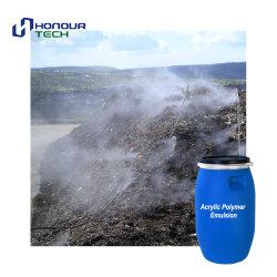 Faible teneur en COV de contrôle de poussières non toxiques chimiques