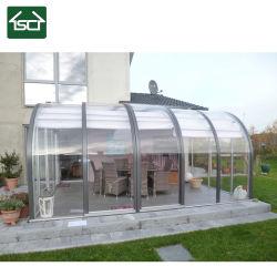 Casa Sol de aluminio/aluminio solarium y sala de cristal con puertas correderas