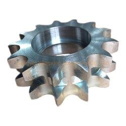 Commerce de gros de haute précision des pièces de machine à rang double pignon de duplex pour les Mini-excavatrice