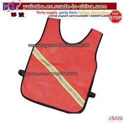 Facile de porter à l'aise Simple Cyclisme vêtements réfléchissants gilet de protection en nylon (C5220)