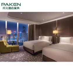 Foshan paste het Moderne Houten Meubilair van het Meubilair van de Slaapkamer van het Hotel aan