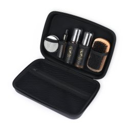 EVA personalizado à prova de execução caso cosméticos beleza bolsa com bolsa de malha