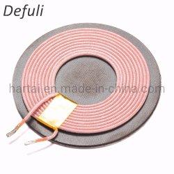 Émetteur antenne RFID Chargeur d'inductance de Air Core d'induction de la charge de cuivre 6,3 UH PCB TX QI antenne sans fil