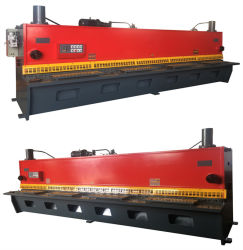 QC12y-16X3200油圧ギロチンのせん断機械E10