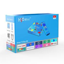 H96 MiniH6 Androïde 9.0 Slimme van TV van de Doos 4G 32g Vastgestelde Hoogste 3D H. 265 WiFi Media Player TV van de Doos 6K