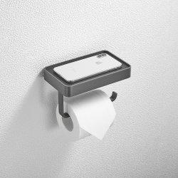 Insieme del hardware della stanza da bagno della piattaforma del telefono dell'acciaio inossidabile del gancio 304 del rullo del tessuto del supporto della parete del supporto di carta igienica