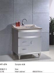 Acero inoxidable 304 Metal Suelo wc Servicio de lavandería tocadores de almacenamiento