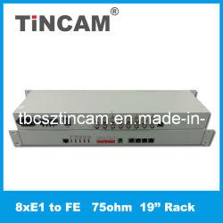 Fast Ethernet 8E1 à convertisseur de protocole (Tbc-Fe6012)
