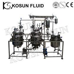 Óleo Essencial de plantas de aço inoxidável Laboratório de solvente extractor de vácuo